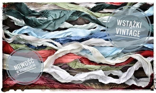 Wstążki Vintage
