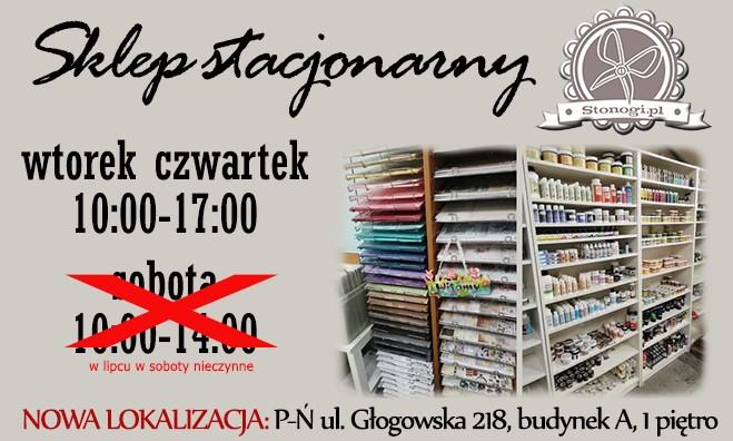 Sklep z produktami do decoupage i scrapbookingu w Poznaniu