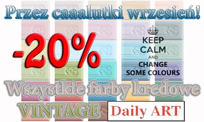 Wrześniowa promocja farb kredowych Daily ART!