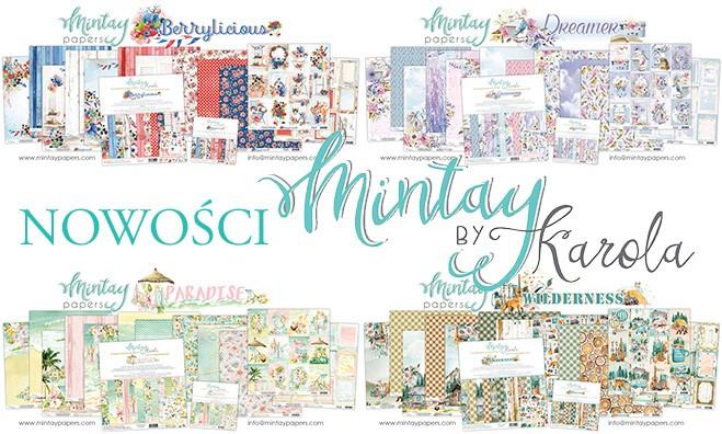 Nowe kolekcje Mintay Papers! Polskie papiery do scrapbookingu