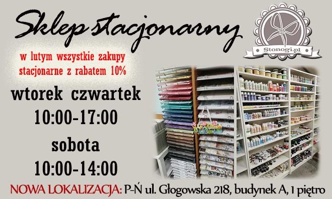 Stonogi.pl - decoupage, scrapbooking, quilling. Warsztaty w Poznaniu