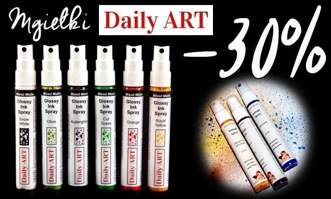 Mgiełki Daily Art - z rabatem 30%