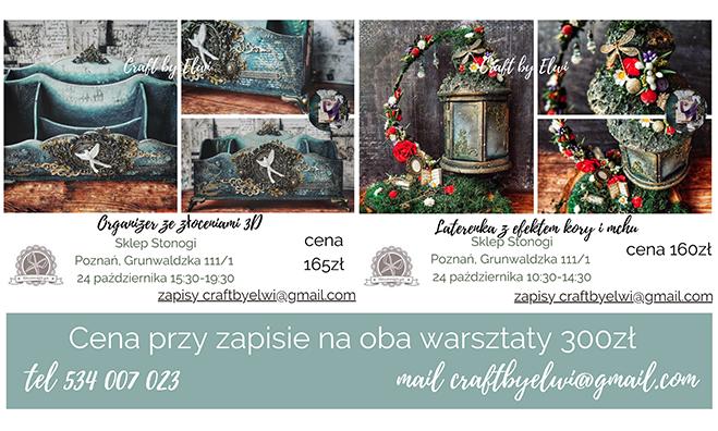 Warsztaty handmade z Elwirą Klejzerowicz
