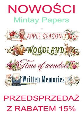 Nowości Mintay Papers przedsprzedaż z rabatem