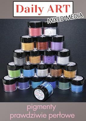 Pigmenty perłowe Daily ART - do wszystkich projektów mixed media