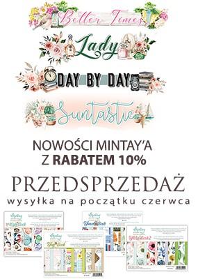 Nowe kolekcje Mintay Papers - przedsprzedaż