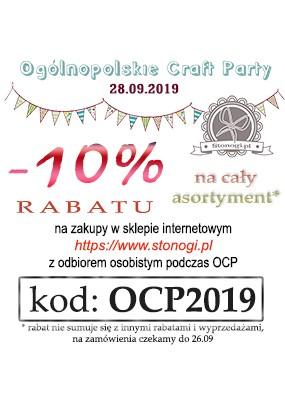 Rabat 10% z odbiorem osobistym podczas Craft Party Poznań 2019