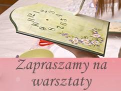 Warsztaty kreatywne w Poznaniu. Decoupage, scrapbooking, mixedmedia